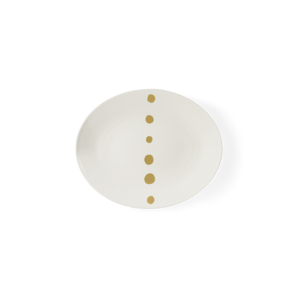 Golden Pearls - Side Plate 9.4in | 24cm (Ø) | Dibbern | JANGEORGe Interior Design