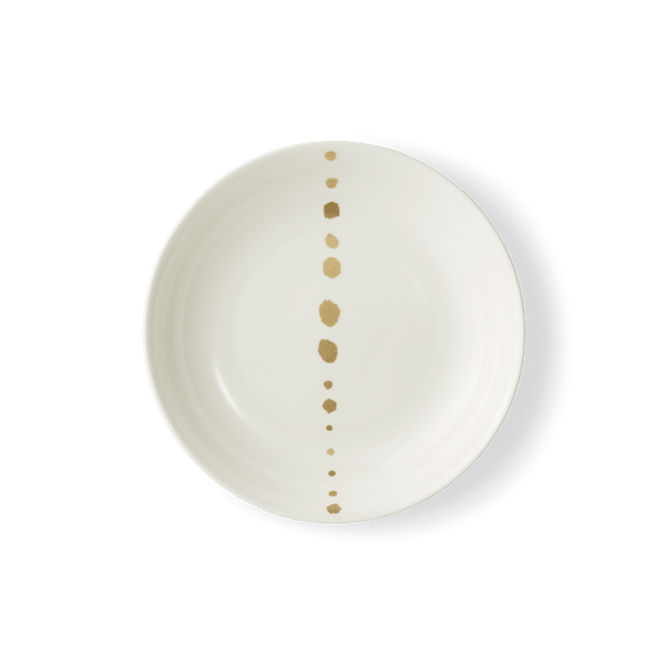 Golden Pearls - Soup Plate 8.8in | 22.5cm (Ø) | Dibbern | JANGEORGe Interior Design