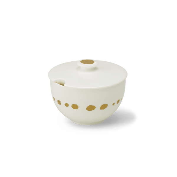 Golden Pearls - Sugar Dish 0.25L | Dibbern | JANGEORGe Interior Design