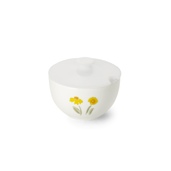 Impression (Yellow Flower) - Base for Sugar Dish Without Lid | Dibbern | JANGEORGe Interior Design