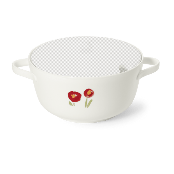 Impression (Red Poppy) - Base of Soup Tureen | Dibbern | JANGEORGe Interior Design