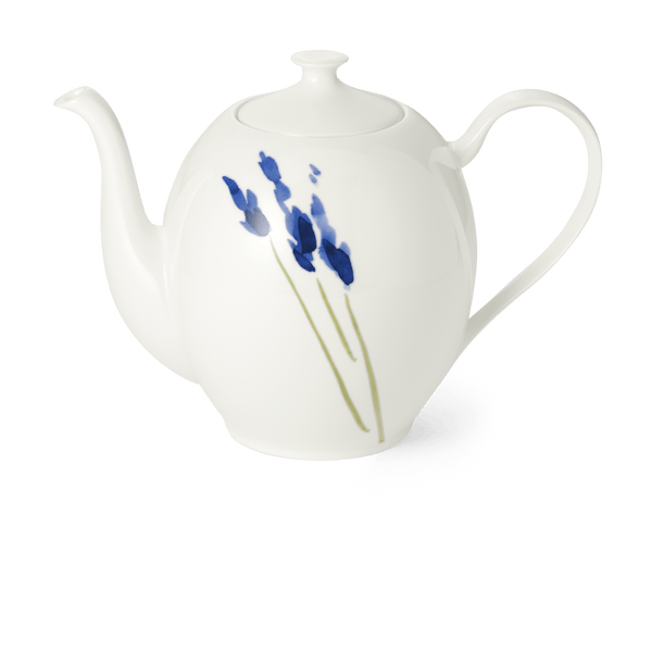 Impression (Blue Flower) - Coffee Pot Without Lid 47.3 fl oz | 1.40L | Dibbern | JANGEORGe Interior Design