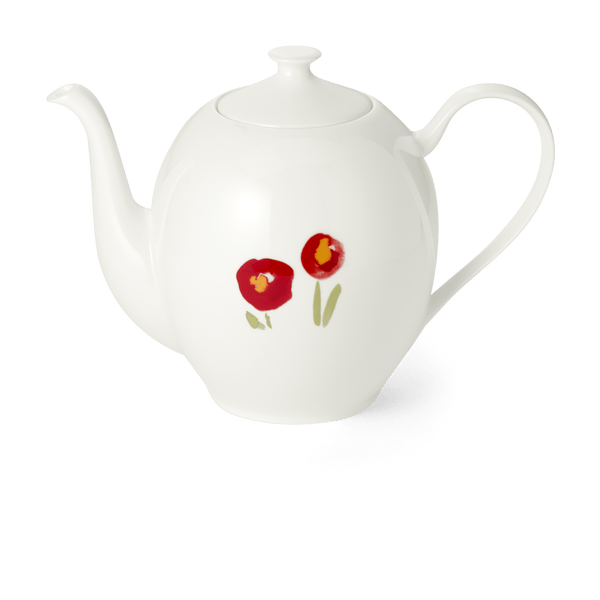 Impression (Red Poppy) - Coffee Pot Without Lid 47.3 fl oz | 1.40L | Dibbern | JANGEORGe Interior Design