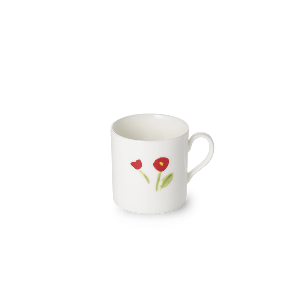 Impression (Red Flower) - Espresso Cup 3.4 fl oz | 0.10L | Dibbern | JANGEORGe Interior Design