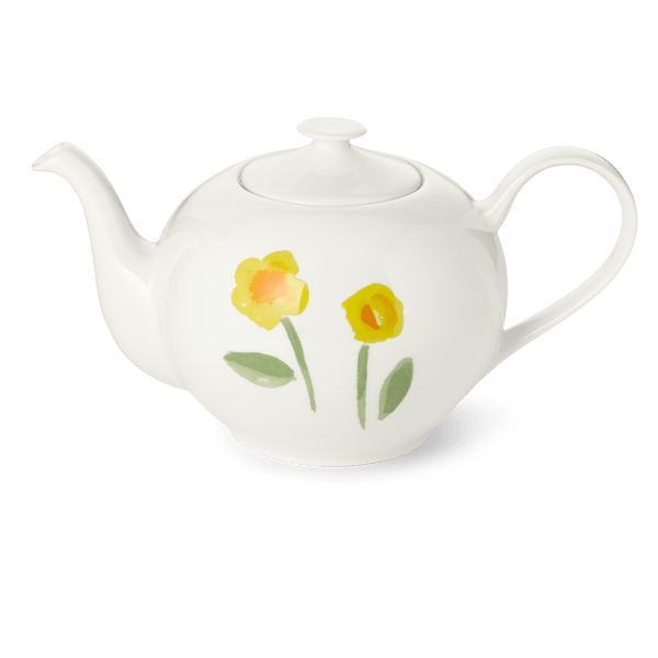 Impression (Yellow Flower) - Teapot 44 fl oz | 1.3L | Dibbern | JANGEORGe Interior Design