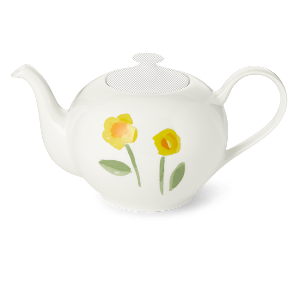 Impression (Yellow Flower) - Teapot Without Lid 44 fl oz | 1.30L | Dibbern | JANGEORGe Interior Design