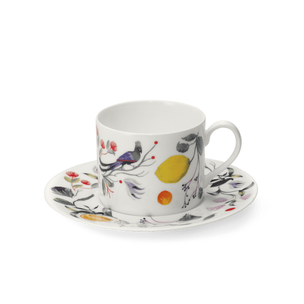Paradies - SET - Saucer & Coffee Cup Cylindrical 0.25L | Dibbern | JANGEORGe Interior Design