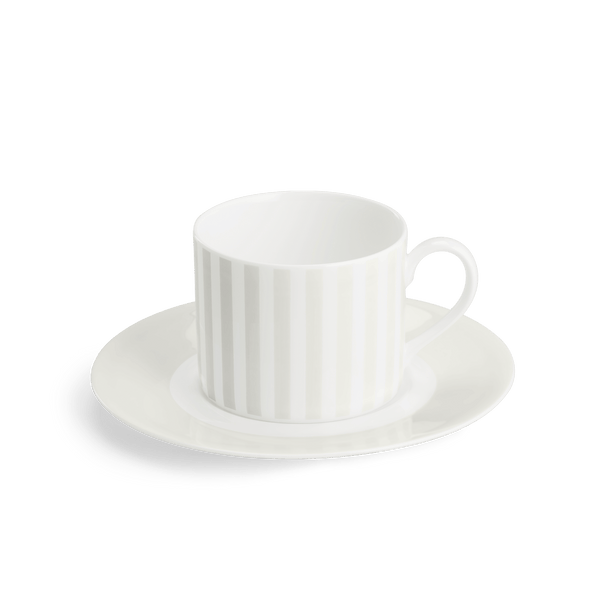 Pastell - Set, Coffee Cup Cylindrical 8.5 fl oz | 0.25L & Saucer | Dibbern | JANGEORGe Interior Design