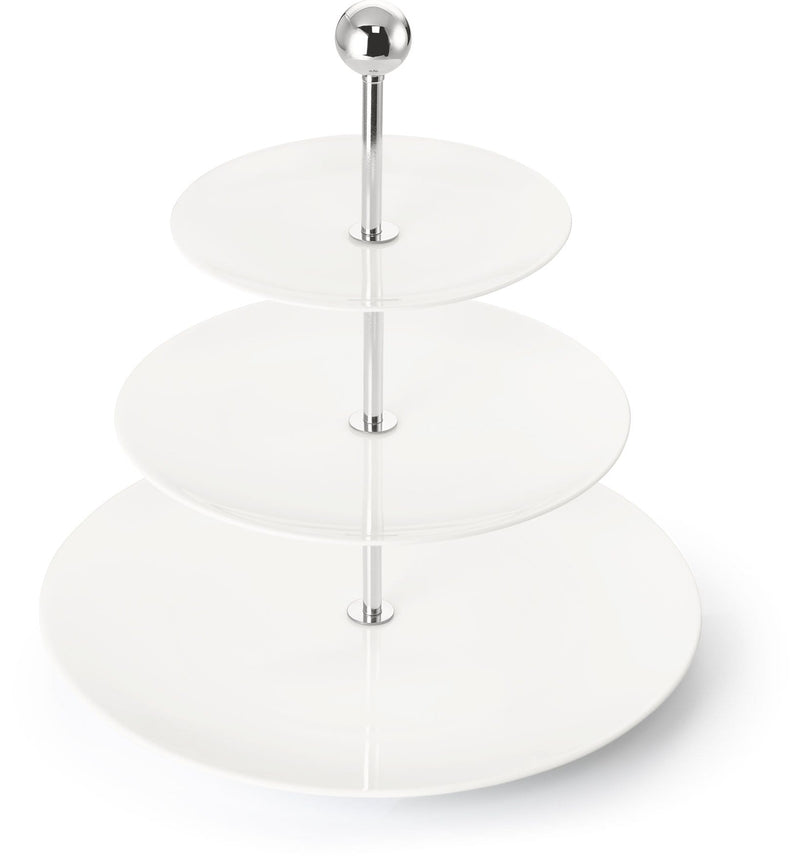 Pure - 3 Tier Cake Stand by Dibbern | JANGEORGe Interior Design