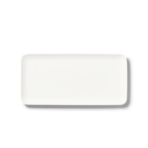 Pure - Rectangular Platter 9.4x12.6in | 24x32cm | Dibbern | JANGEORGe Interior Design