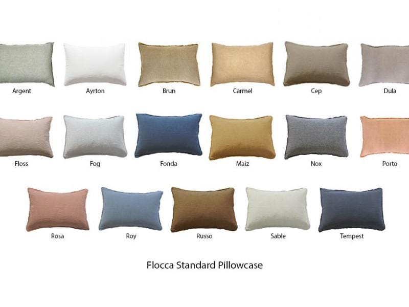 Flocca, Standard pillow case