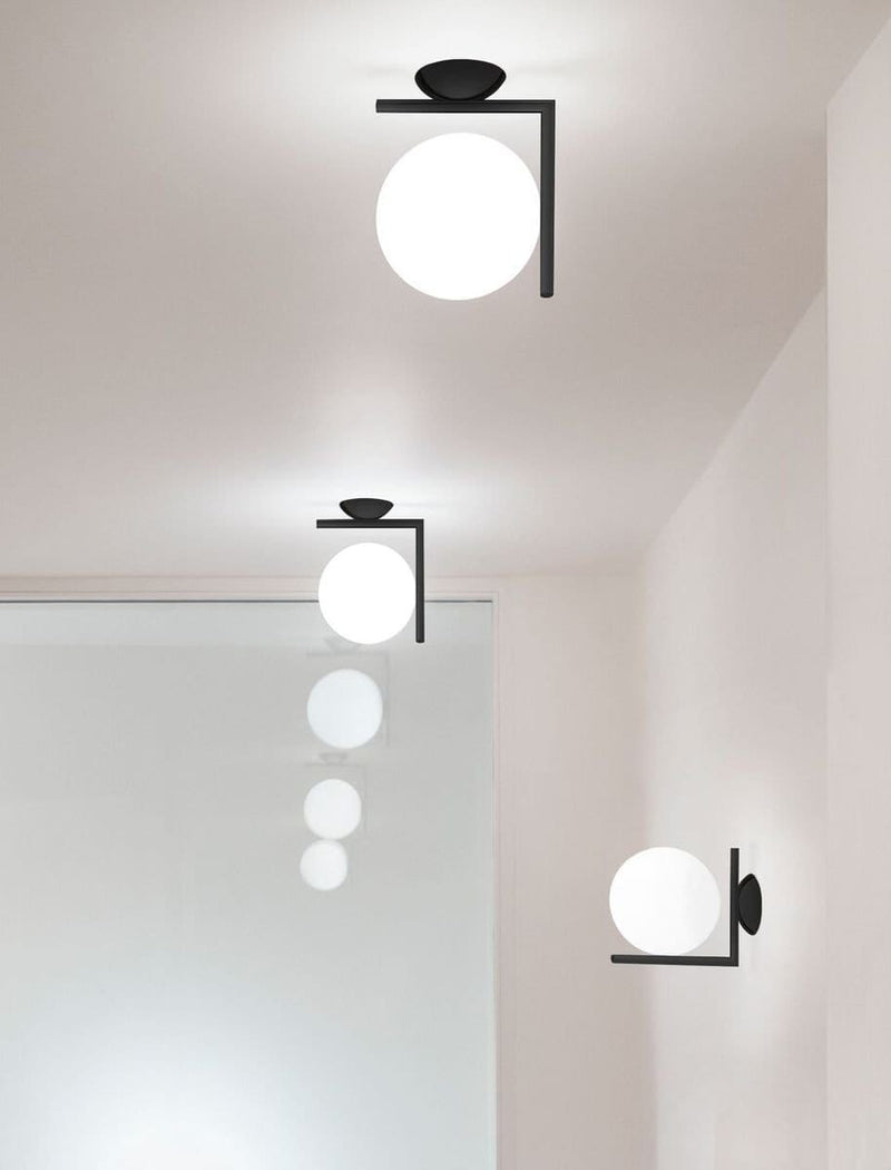 IC Lights Ceiling / Wall Lamp | Flos | JANGEORGe Interior Design
