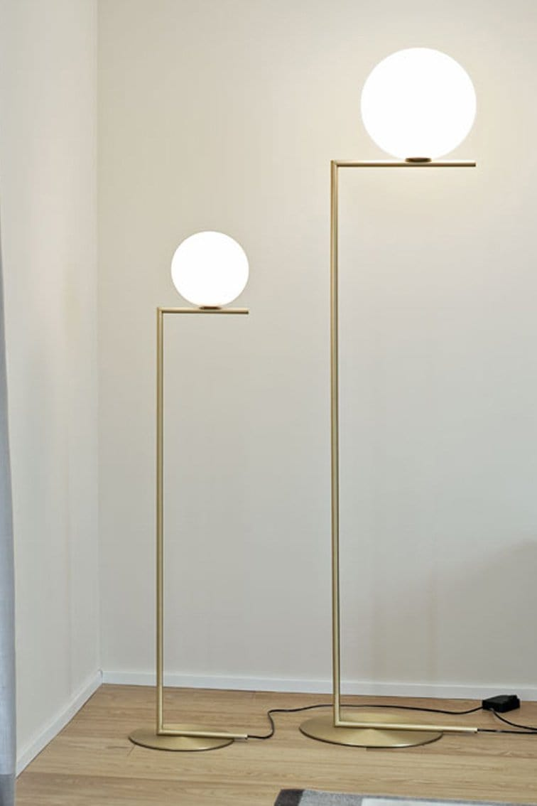 IC Lights F1 Floor Lamp | Flos | JANGEORGe Interior Design