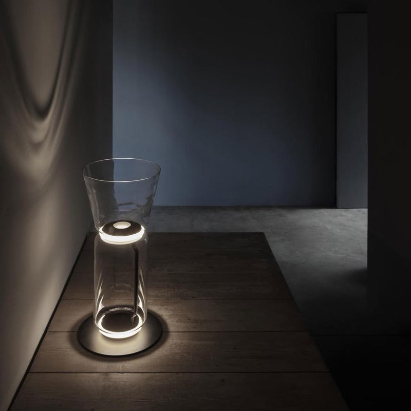 Noctambule Floor Lamp with High Cylinder, Cone and Small Base | Flos | JANGEORGe Interior Design
