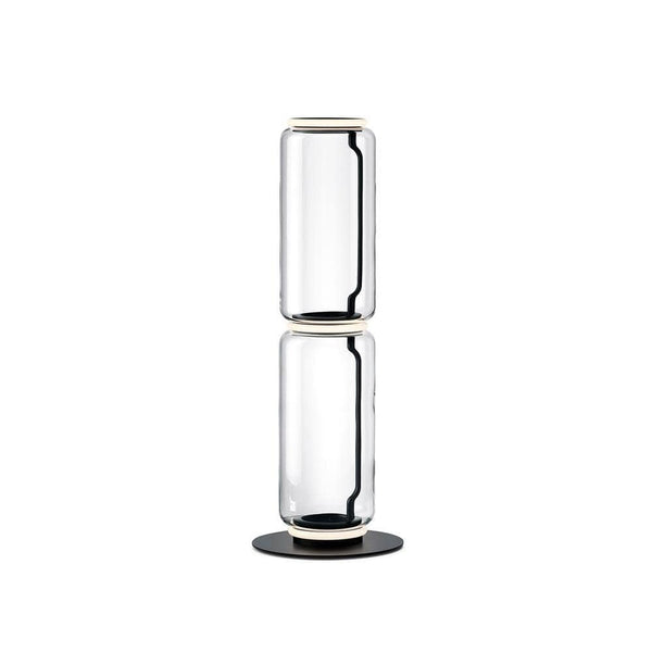 Noctambule Floor Lamp with High Cylinder and Small Base - JANGEORGe Interior Design - Flos