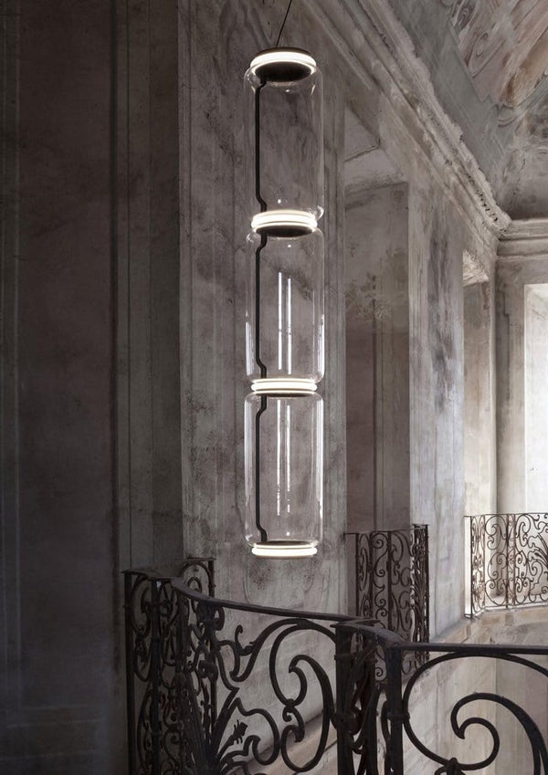 Noctambule - Pendant with High Cylinders by Flos | JANGEORGe Interior Design
