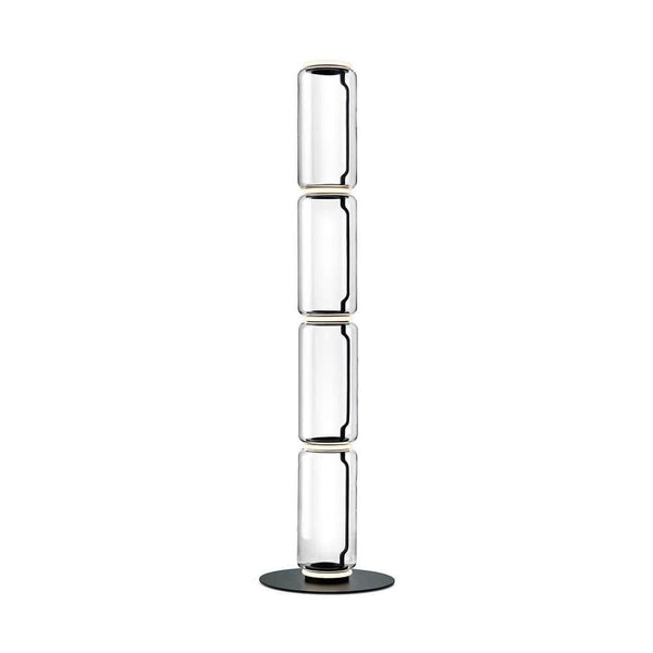 Noctambule Floor Lamp, LED Dimmable, 4 High Cylinders and Large Base - JANGEORGe Interior Design - Flos