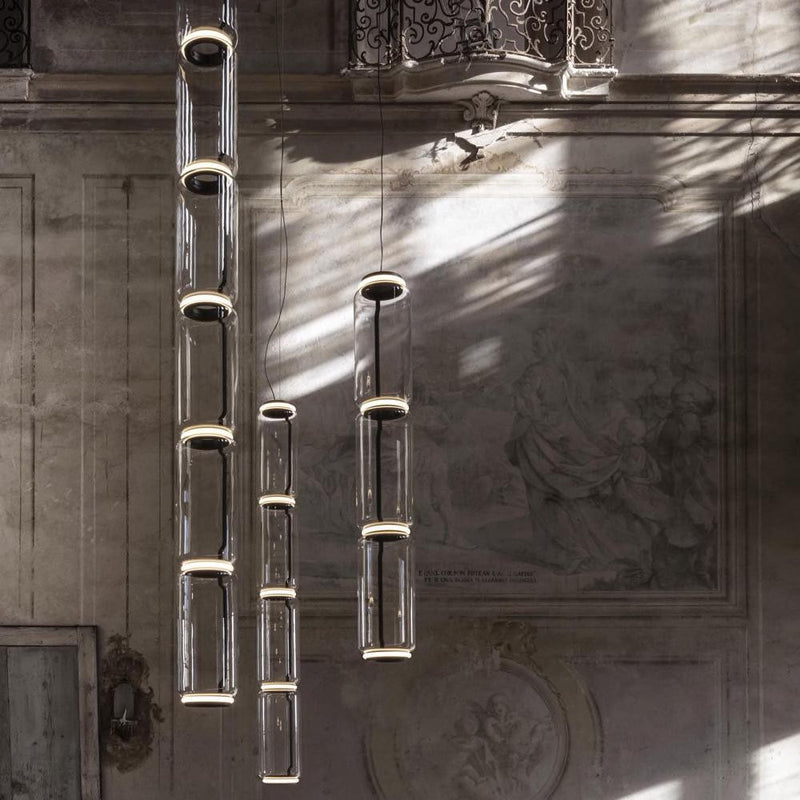 Noctambule Pendant with High Cylinders | Flos | JANGEORGe Interior Design