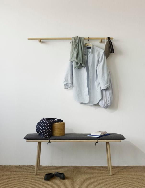 Georg Bench with Wool Pad | Skagerak | JANGEORGe Interior Design