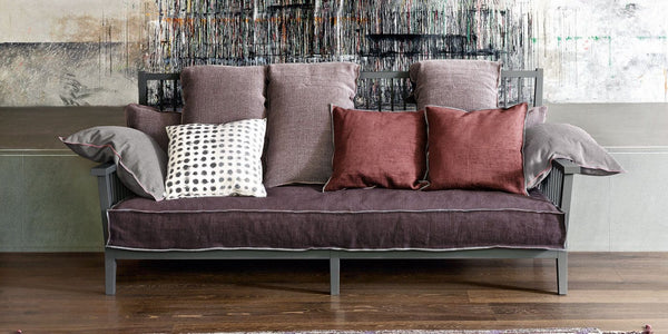 C Gray PI Cushion | Gervasoni | JANGEORGe Interior Design