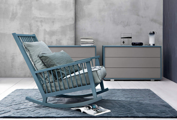 Gray 09 Rocking Chair | Gervasoni | JANGEORGe Interior Design