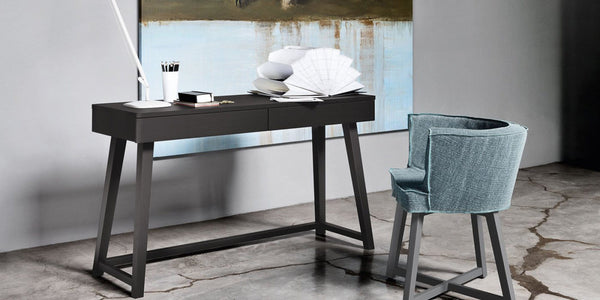 Gray 50 Writing Desk | Gervasoni | JANGEORGe Interior Design