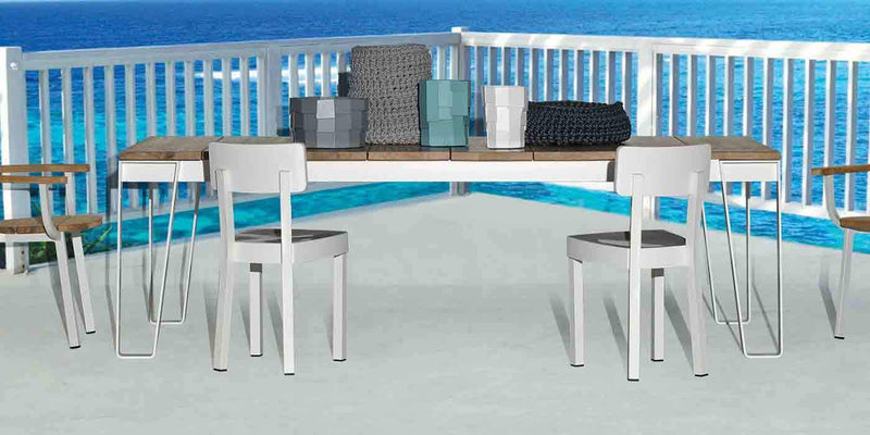 InOut 933 - Outdoor Dining Table by Gervasoni | JANGEORGe Interior Design