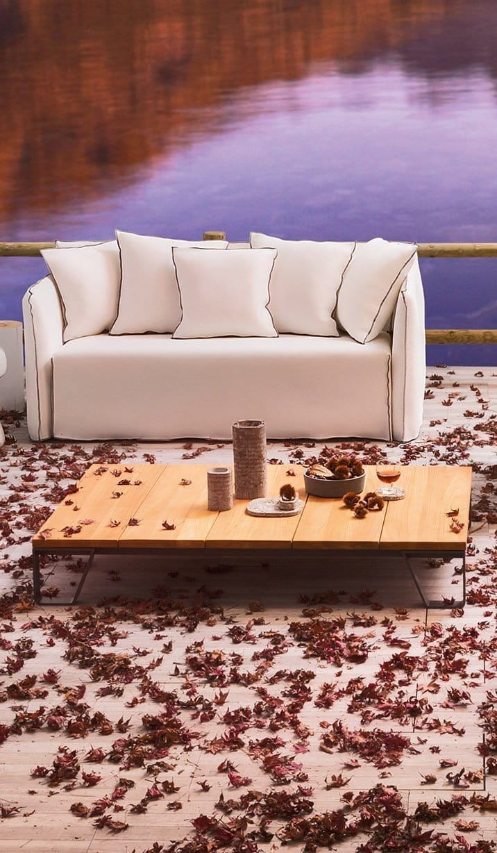 Ghost Out 10 Outdoor Sofa | Gervasoni | JANGEORGe Interior Design