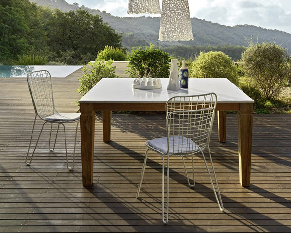 Jeko 31 Outdoor Dining Table | Gervasoni | JANGEORGe Interior Design