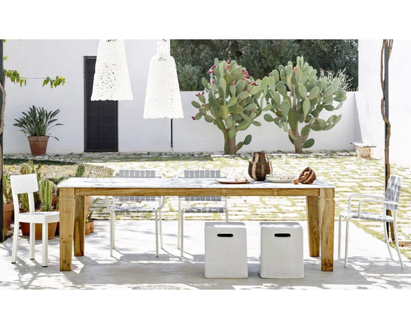 Jeko 33 Outdoor Dining Table | Gervasoni | JANGEORGe Interior Design