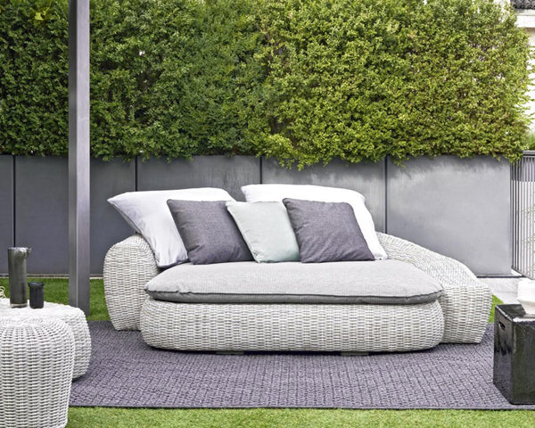 Panda 04 Outdoor Day Bed | Gervasoni | JANGEORGe Interior Design