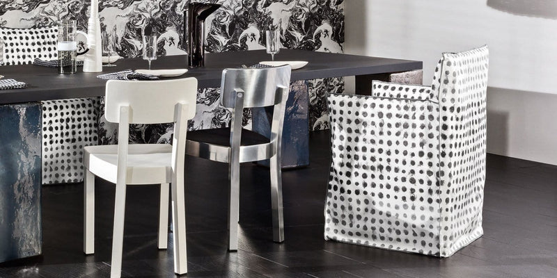 Ghost 25 Dining Chair with Arms | Gervasoni | JANGEORGe Interior Design