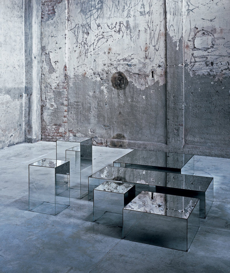 Illusion Low Glass Table | Glas Italia | JANGEORGe Interior Design