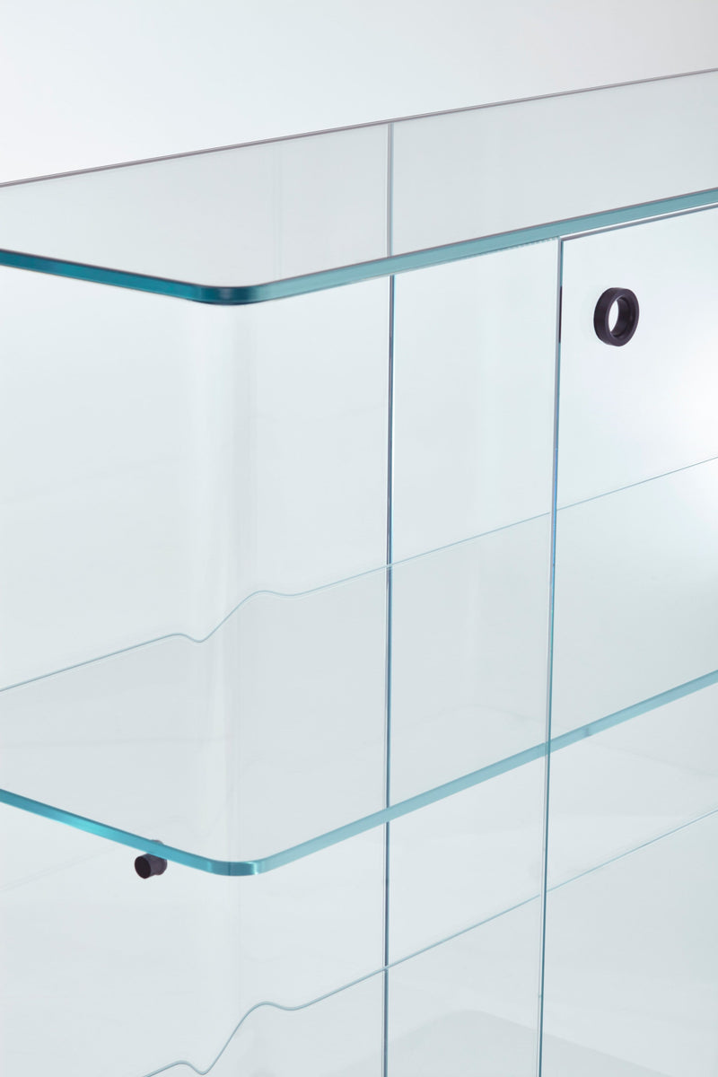 Collector Glass Storage Unit | Glas Italia | JANGEORGe Interior Design