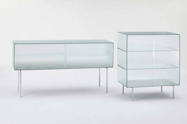 Commodore - Glass Storage Unit by Glas Italia | JANGEORGe Interior Design