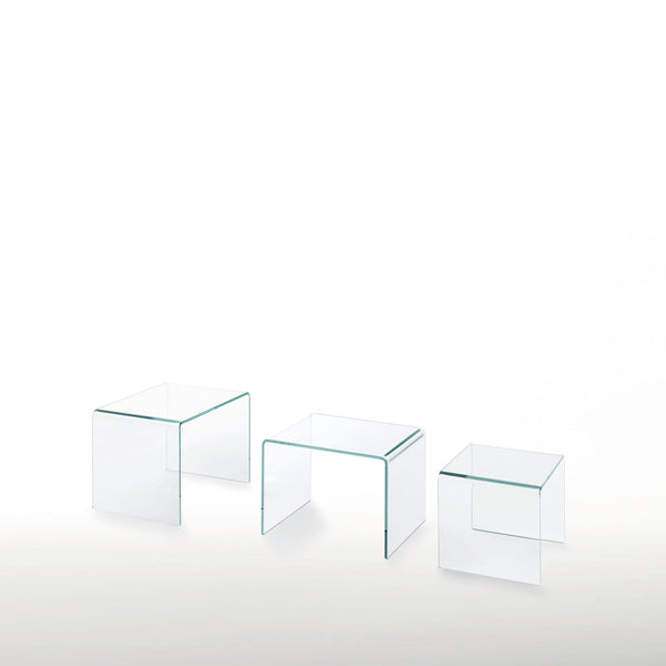 Curvi Low Glass Table | Glas Italia | JANGEORGe Interior Design