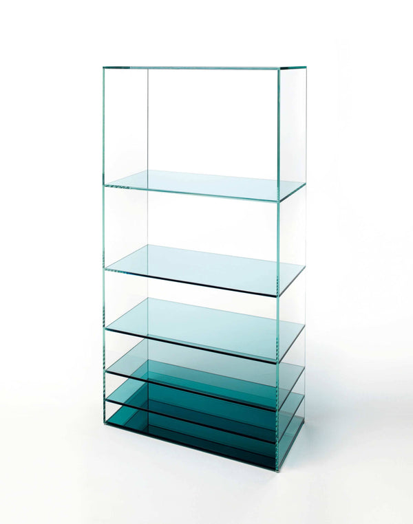 Deep Sea Glass Bookcase | Glas Italia | JANGEORGe Interior Design