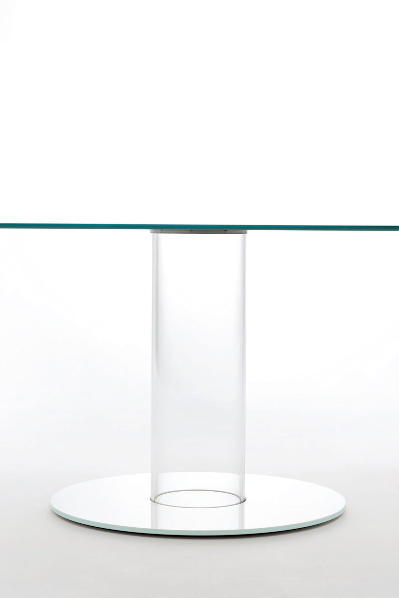 Hub High Glass Table | Glas Italia | JANGEORGe Interior Design