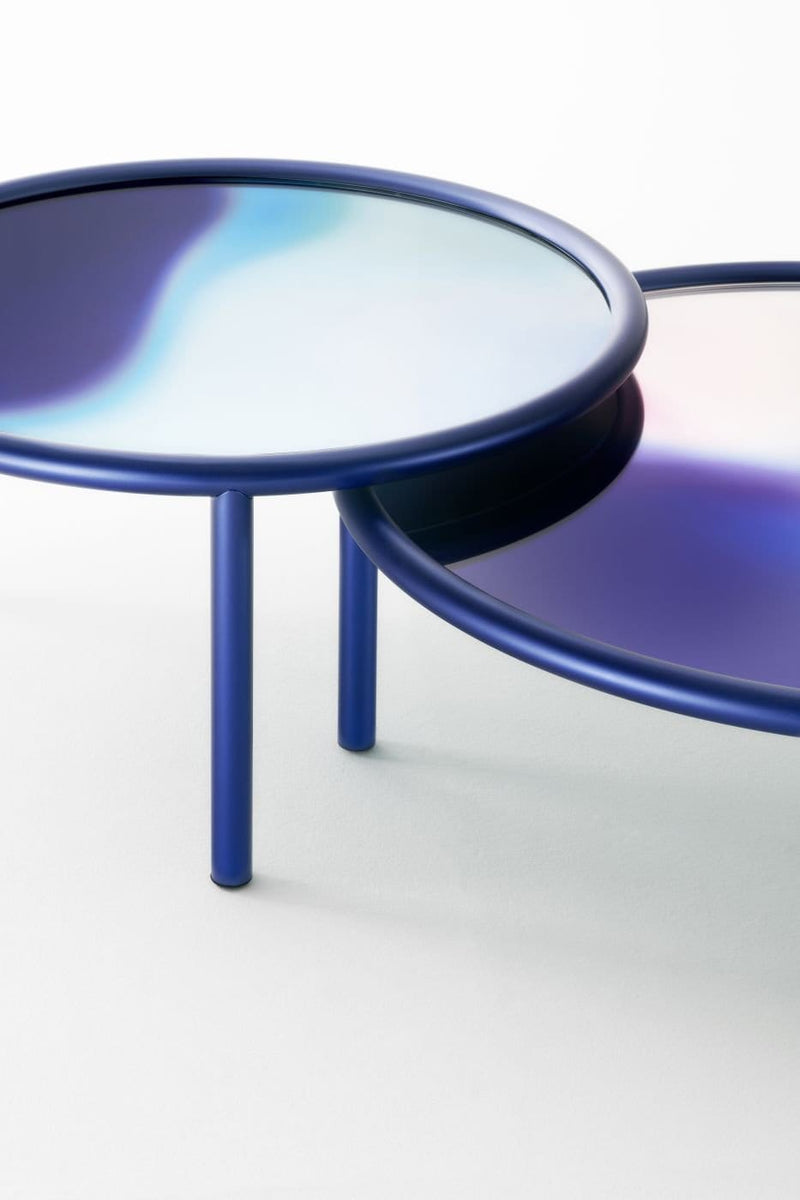 L.A. Sunset Low Glass Table | Glas Italia | JANGEORGe Interior Design