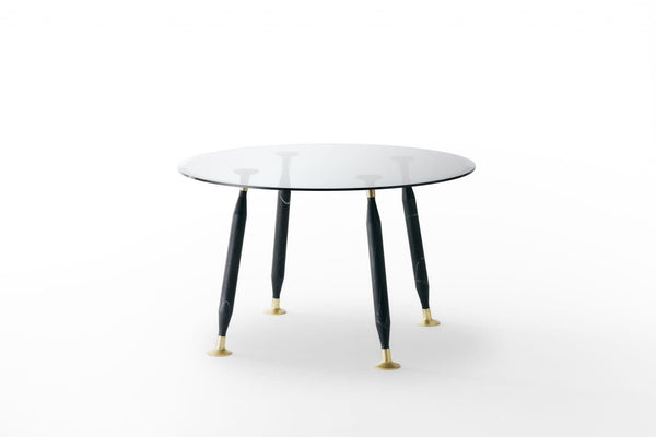 Lady Hio - Dining Glass Table by Glas Italia | JANGEORGe Interior Design