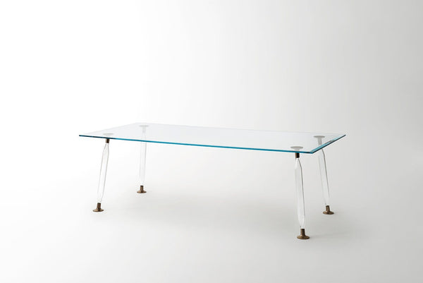 Lady Hio - Dining Glass Table | Glas Italia | JANGEORGe Interior Design