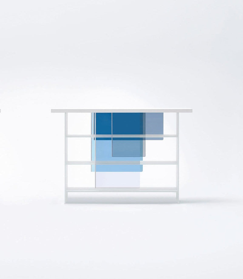Layer Glass Bookcase | Glas Italia | JANGEORGe Interior Design