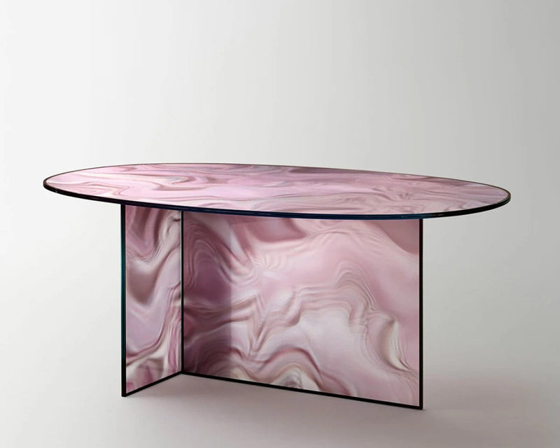 Liquefy Glass Table | Glas Italia | JANGEORGe Interior Design