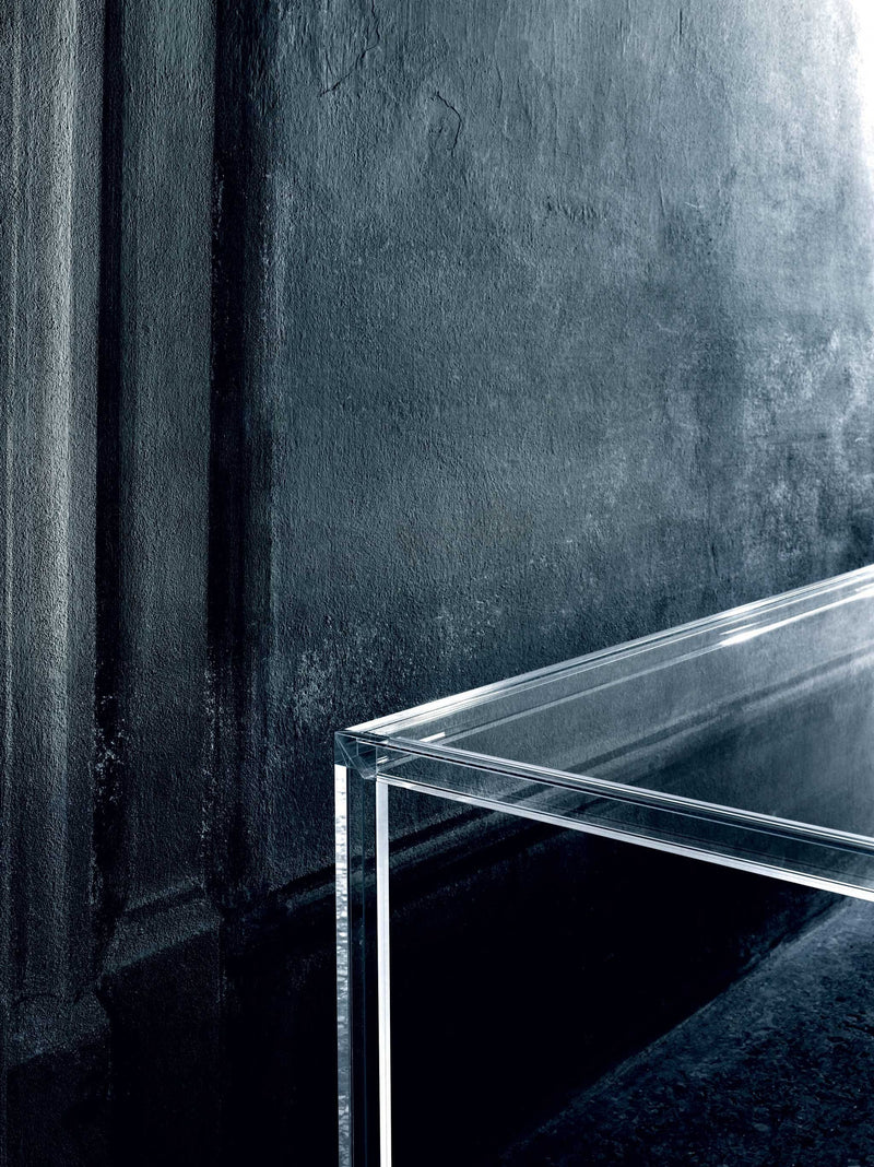 Luminous High Glass Table | Glas Italia | JANGEORGe Interior Design