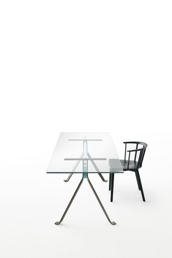 Mari Cristal - Writing Desk by Glas Italia | JANGEORGe Interior Design