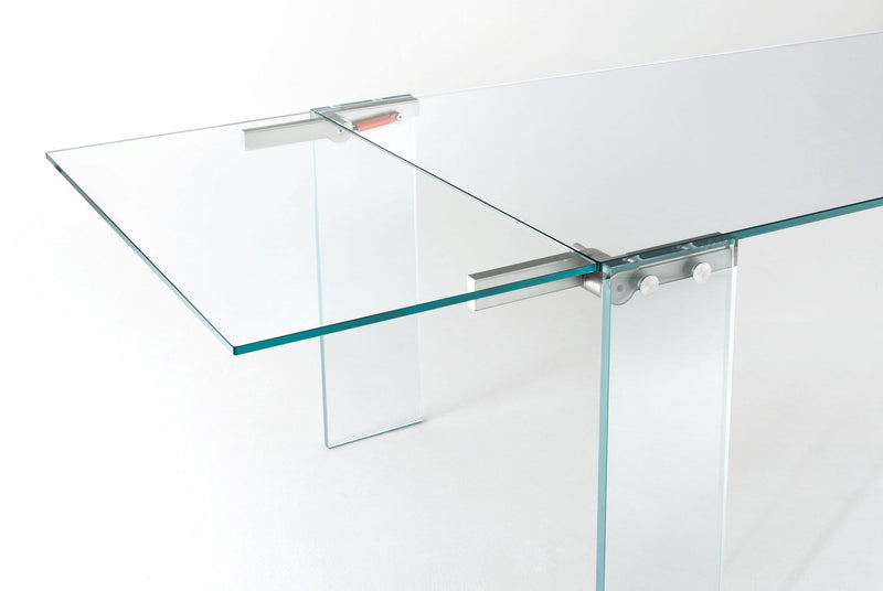 Naked High Glass Table | Glas Italia | JANGEORGe Interior Design