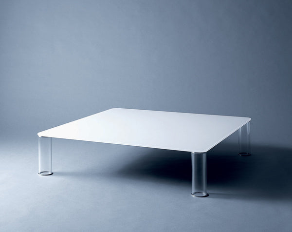 Pipeline - Low Glass Table by Glas Italia | JANGEORGe Interior Design