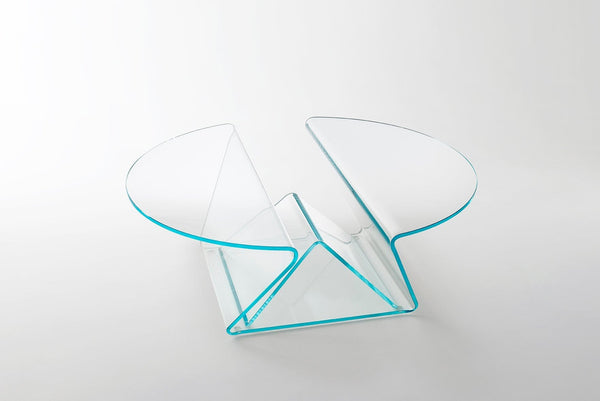 Plissé - Low Glass Table - JANGEORGe Interior Design - Glas Italia