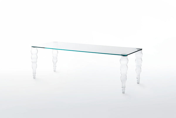 Post Modern - Glass Table by Glas Italia | JANGEORGe Interior Design