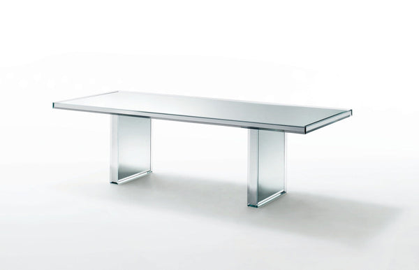 Prism - Mirror Table by Glas Italia | JANGEORGe Interior Design